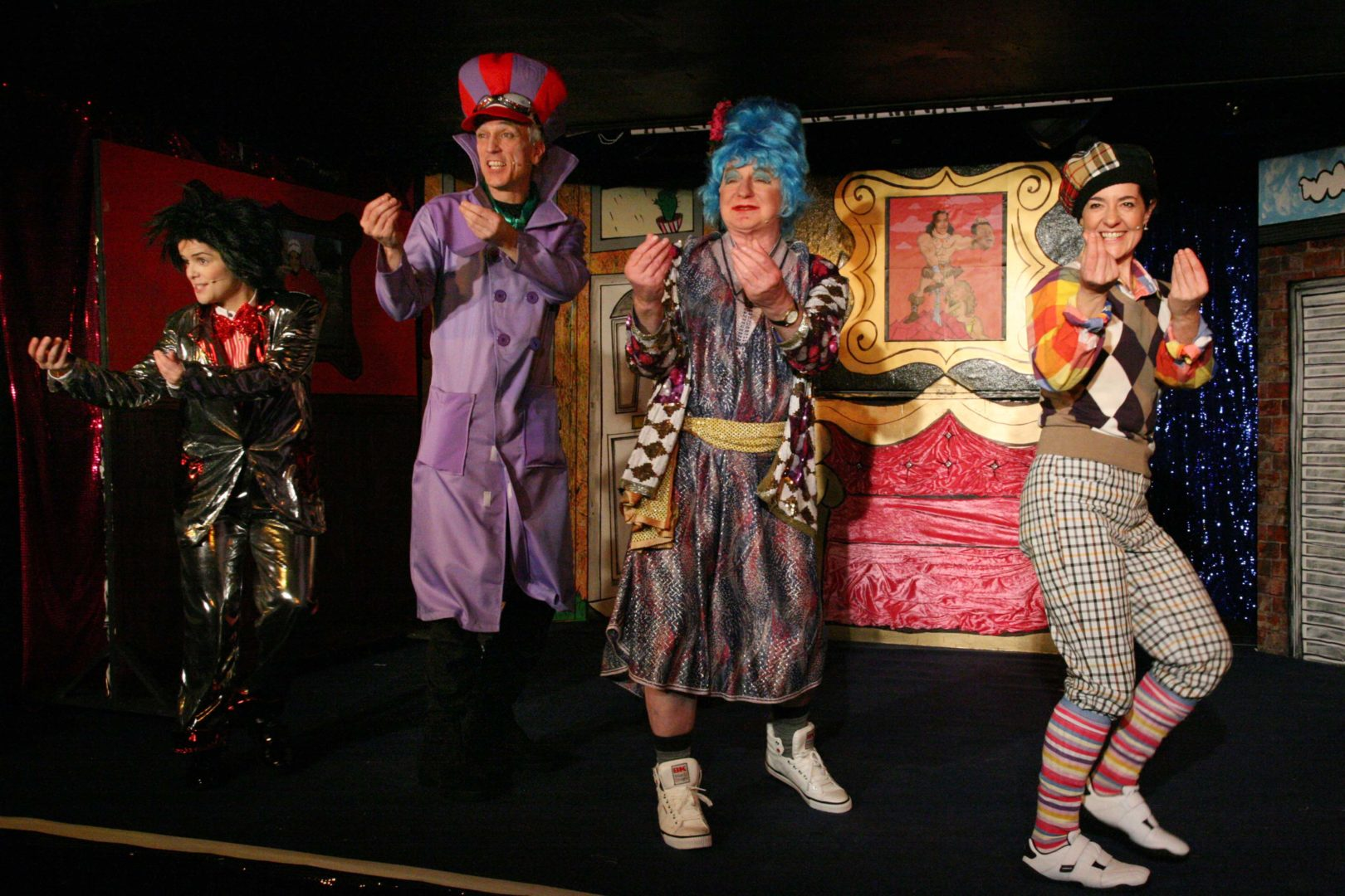 Christmas Panto | Ali Bawbag and the Four Tealeafs